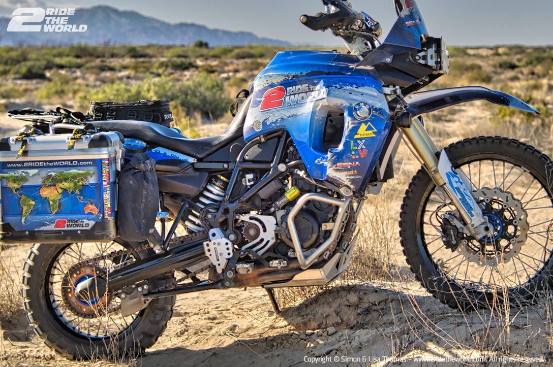 F800GS RearSuspension bike