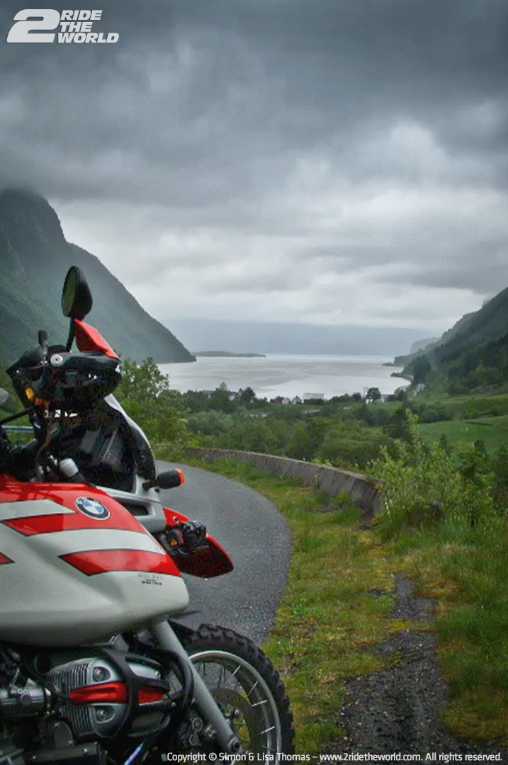 r1100gs fjord view