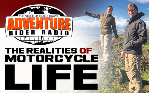 The Realities of Motorcycle Life - ARR Podcast Interview