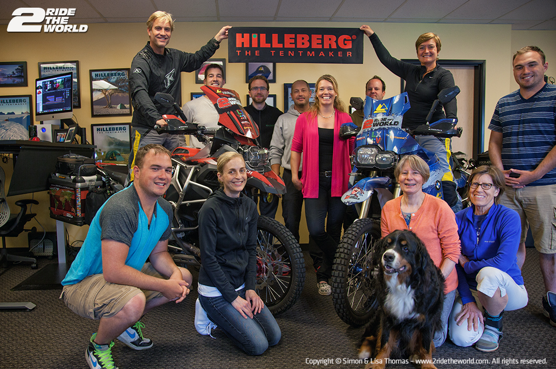 Celebrating with the Hillberg team at their US offices in Seattle