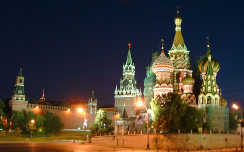 Russia - Red square and the Kremlin