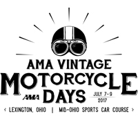 AMA - Vintage Motorcycle Days