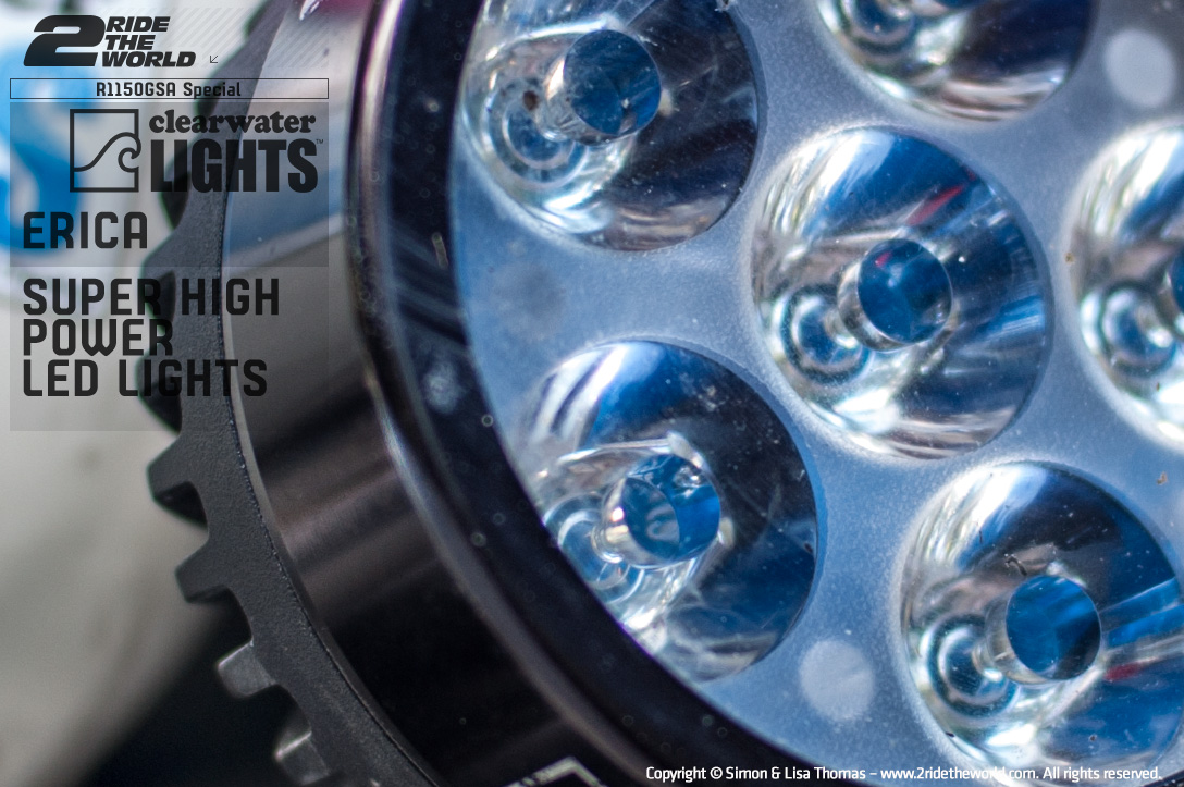 Clearwater Erica\'s LED Lights | Bike | Reviews | 2RidetheWorld