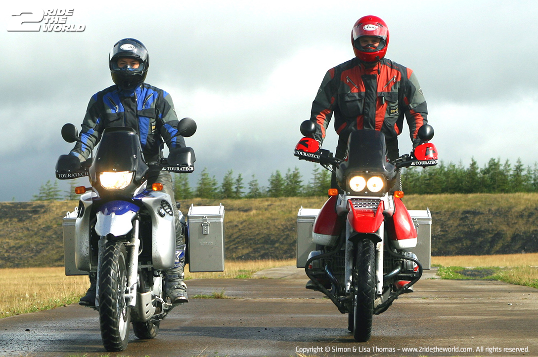 The last day of our BMW Motorrad Off-Road School experience.