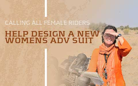 A Call To All FEMALE RIDERS - New Suit