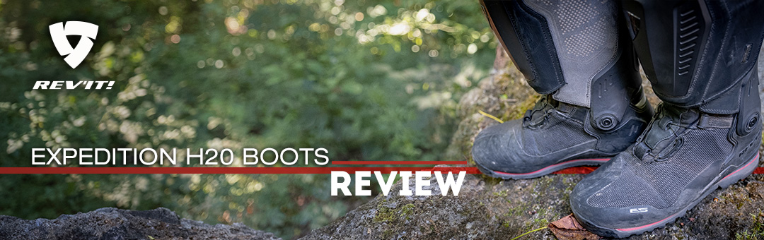 REV'IT! EXP H20 Boot review